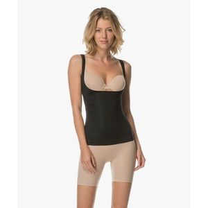 Spanx open bust top